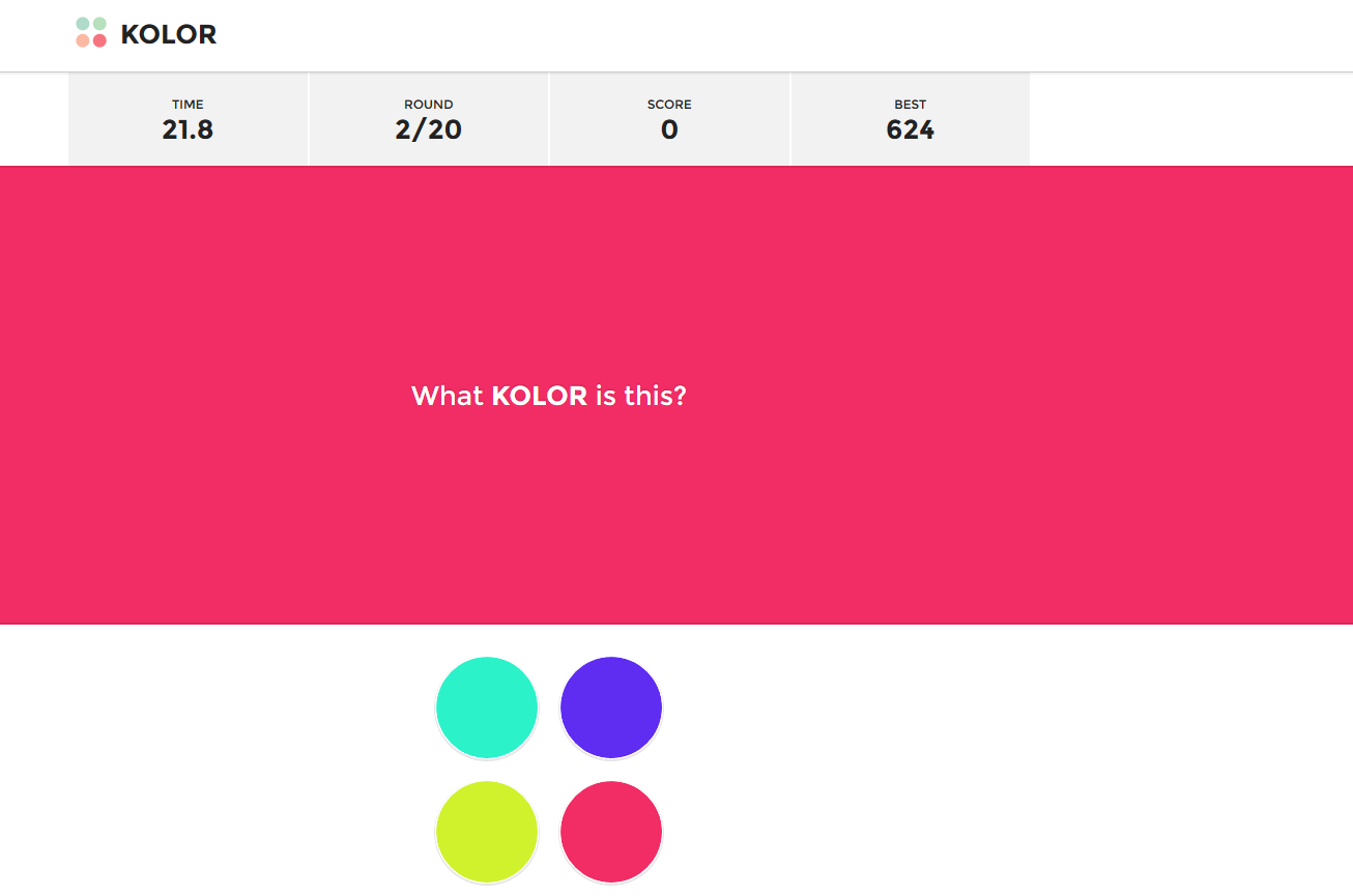 Kolor: Wie gut ist Dein Auge?