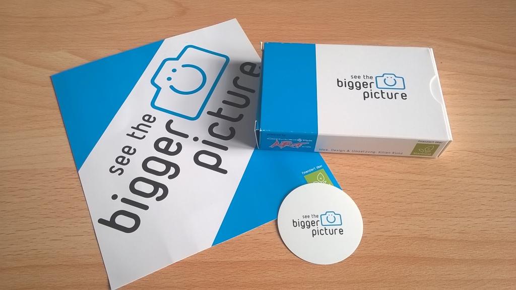 Inspiration und Übung: Die bigger picture-Karten