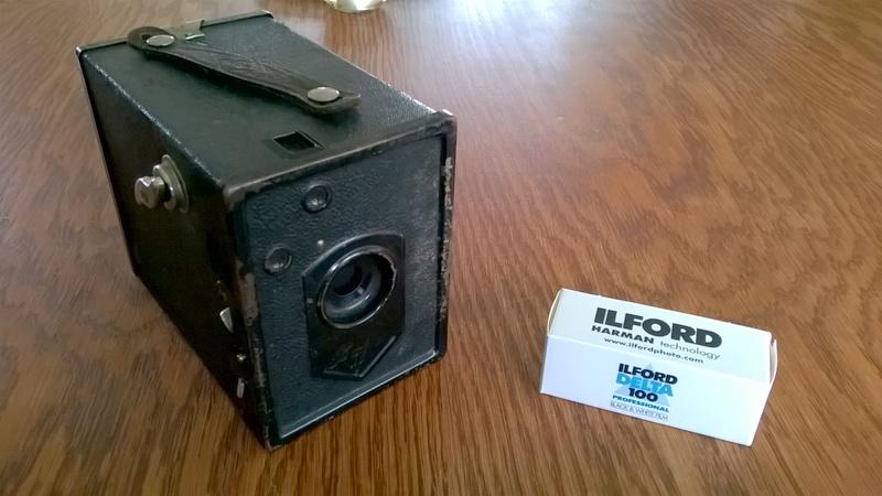 Agfa Box + 120er Rollfilm