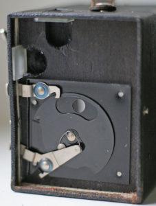 Agfa Box Verschluss offen