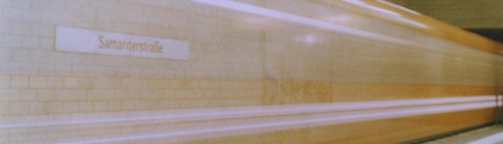 Ubahn Berlin, lange Verschlusszeit | Tipps