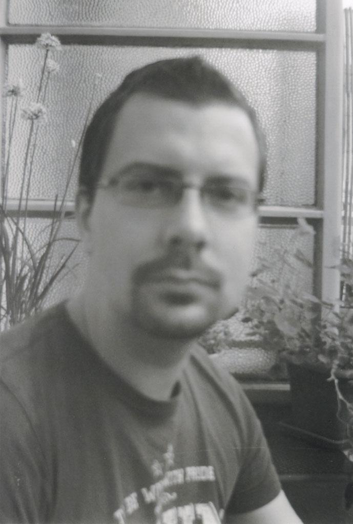 Portraitaufnahme mit der Agfabox 44 (Etwas zu nah dran)