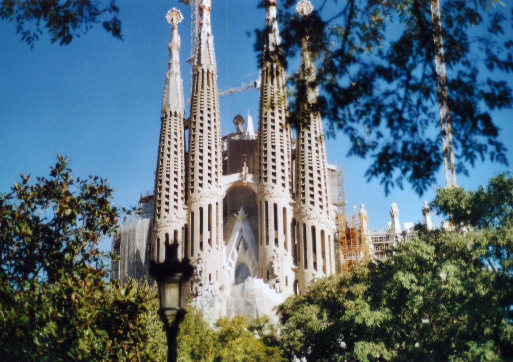 """Sagrada Familia"" – Barcelona analog"