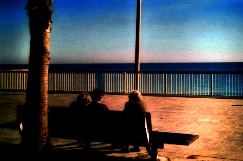 """Abstraktion von """"Ruhestand am Strand"""""""