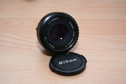 Nikon Series E 1.8 50mm Objektiv
