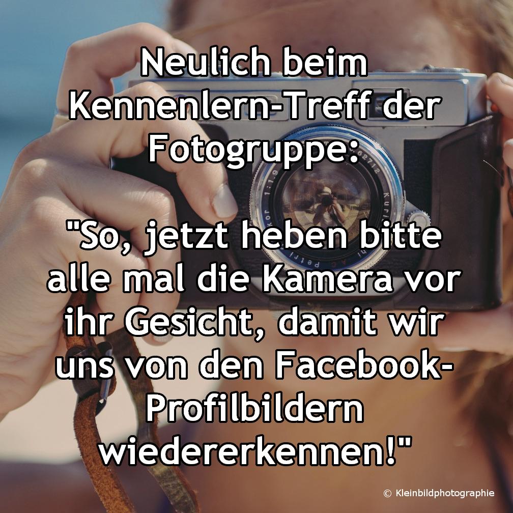 MEME Frau Kamera
