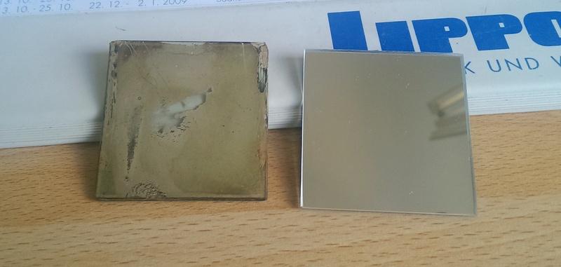 Reflekta II alter und neuer Spiegel