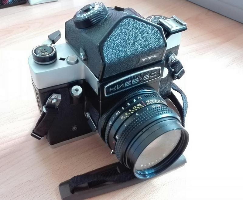 Neue Kamera: Kiev 60 + Volna 3 Objektiv
