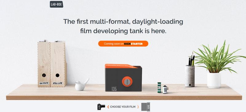 Ankündigung: Neuer Tageslicht-Entwicklertank von ars-imago!