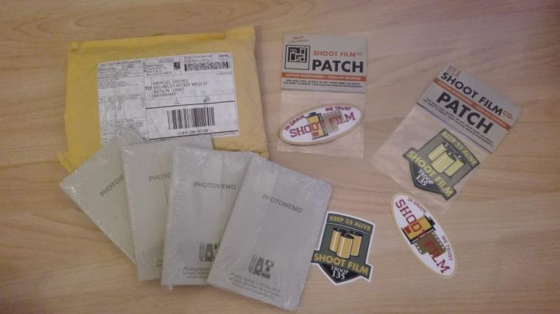 Photomemobücher und Sticker