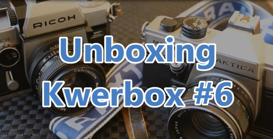 Video: Unboxing der Kwerbox Nr. 6!   kleinbildphotographie.de