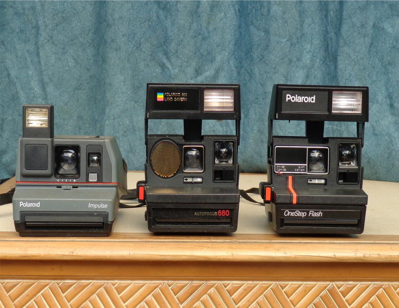 Polaroid Kameras kleinbildphotographie.de