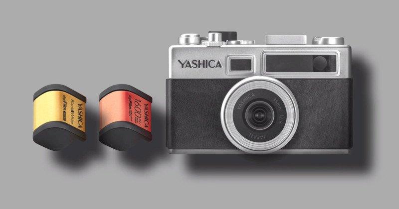 Yashica Y35 – Die erste digitale Analogkamera?