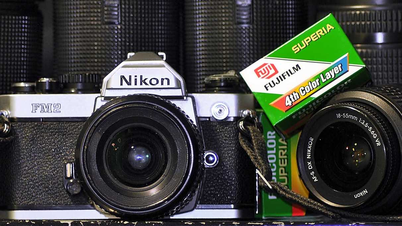 Nikon FE2 mit Fujifilm Superia