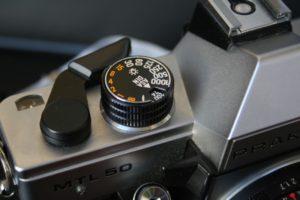 Praktica MTL 5B ISO Einstellrad