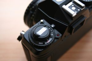 Nikon F301 ISO Einstellrad