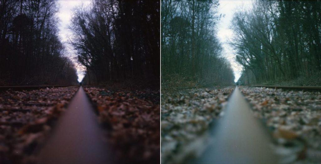 Kodak Film richtige und falsche Belichtung