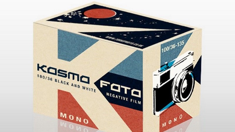Kosmo Foto Mono Film Verpackung