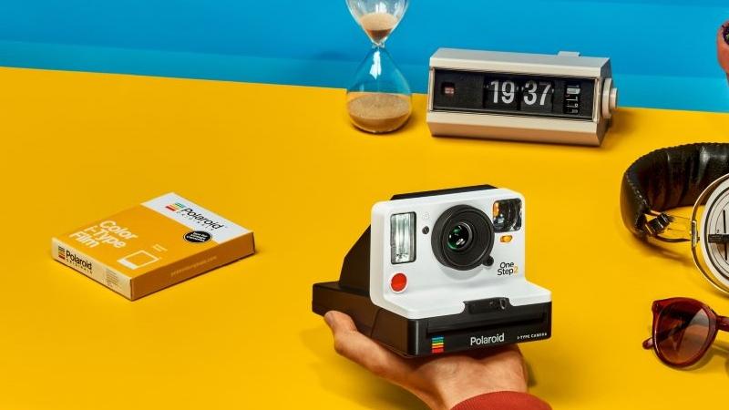 Bild der Polaroid Onestep 2 in weiß