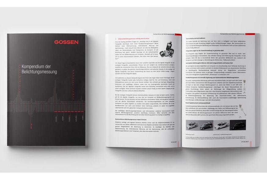 Gossen Kompendium - Screenshot der Seite