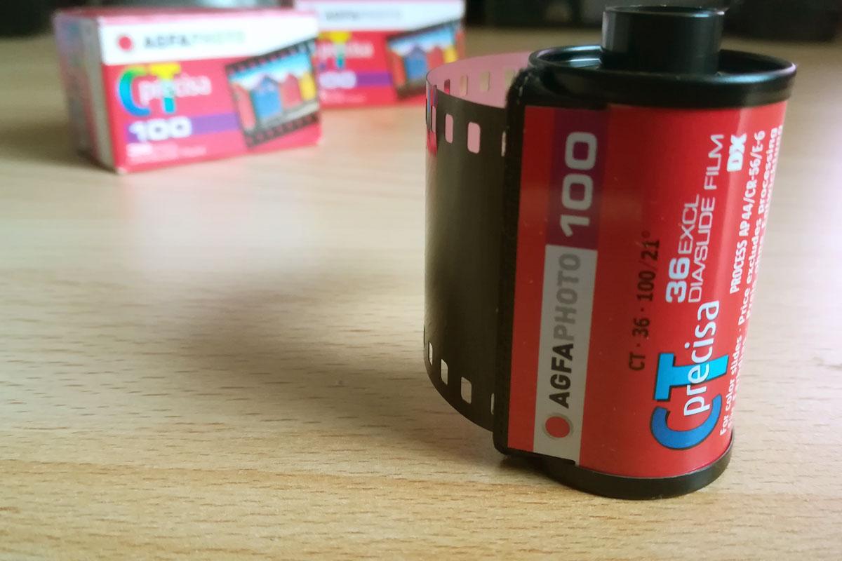 Agfa Precisa CT 100 einzelne Filmpatrone