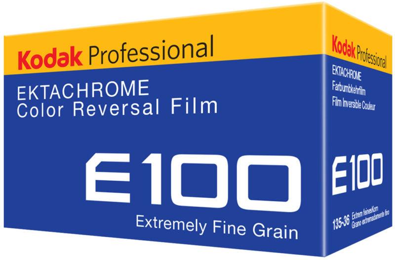Ektachrome Film Verpackung