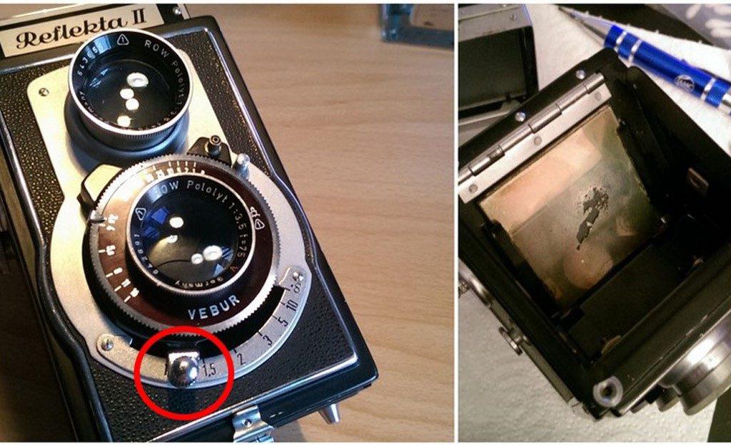 Irgend ist mal eine Reparatur fällig. Zum Glück lässt sich fast jede analoge Kamera reparieren.