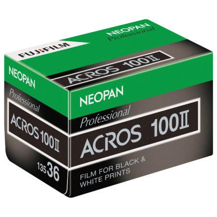 Nur ein neues Label? Fujifilm führt den NEOPAN ACROS II ein.