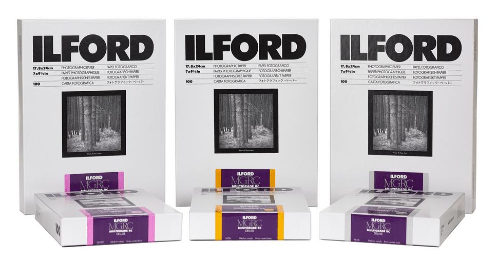 Ilford neues Papier Multigrade RC MGRC