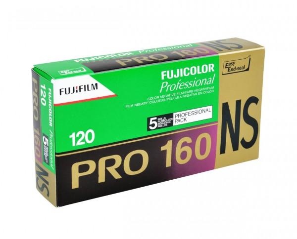 Fujicolor Pro 160 NS und Fujichrome Velvia 50 eingestellt
